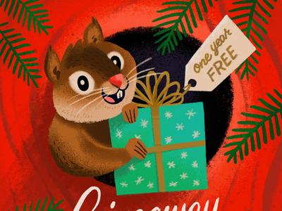 Giveaway Squirrel