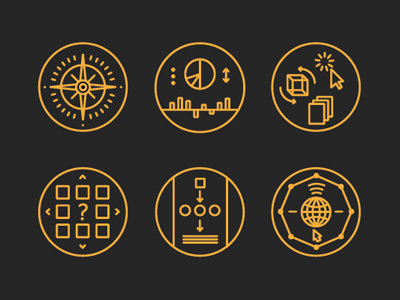 More Icons icons illustration infographic website ui design