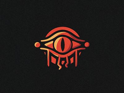 Sauron Minion round illustration black vector smooth orange illustraion illutration art design art sticker branding design logodesign logo eye lord of the rings sauron