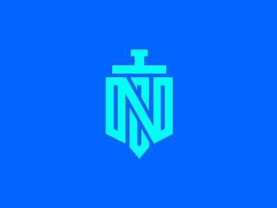 N+SWORD logo flat vector illustration logo design concept logotype logo logo design branding logo design design branding