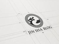 JIN SHA BLOG LOGO SPACE & GRIDS