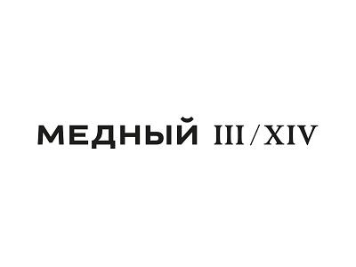 Copper 3/14 estate residental typography logotype logo letterwork lettering letter identity