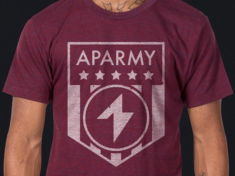 Aparmy shirt