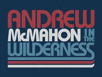 Andrew McMahon in the Wilderness / July 4th T-Shirt