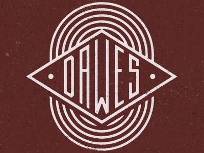 Dawes / Camper Mug band merch monoline retro diamond camping mug vintage music merch dawes