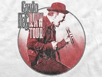 Gavin DeGraw / Raw Tour T-Shirt