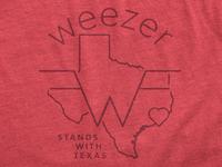 Weezer / Hurricane Harvey Relief Tee