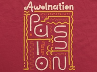 Awolnation / Passion Glyph T-Shirt