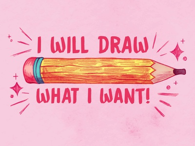 What I Want positivity hand drawn spot illustration pencil sketch digital illustration mixedmedia pencil drawing pencil icon design illustration