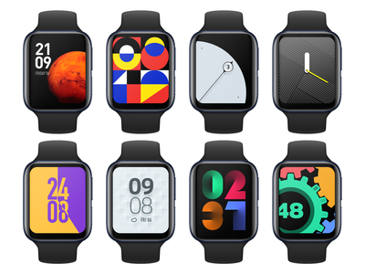watch theme design illustration icon ui gui