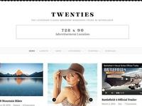 Magazine, Blog Clean Masony WordPress Theme