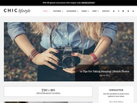 Chic WordPress Blog & Shop Theme