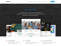 Samus Total WordPress Theme Demo
