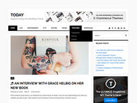 Today - Free Magazine & Blog WordPress Theme