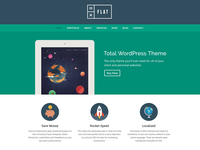 Flat Total WordPress Theme Demo
