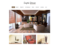 Simple Spaces - Total WordPress Theme Demo