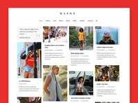 Mason - Total WordPress Theme Demo