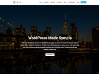 Paris WordPress Theme Demo