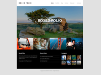 Boxed Folio - Total WordPress Theme Demo