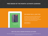 eBook Landing Page - Total WordPress Theme Demo