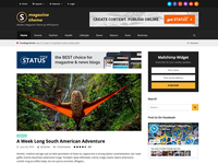 Status Wordpresss Magazine Blog Theme
