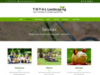 Landscaping  - Total WordPress Theme Demo
