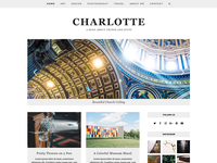 Charlotte - Total WordPress Theme Blog Demo