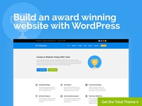 Cleaner Total WordPress Theme Website