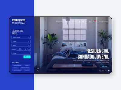 Oportunidades Imobiliárias Website web design website design website concept design agency agency website uidesign ui webdesign ui design