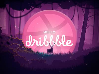 Hello Dribbble! comunity visual identity ui design ui  ux webdesign uidesign ui branding design hello dribbble