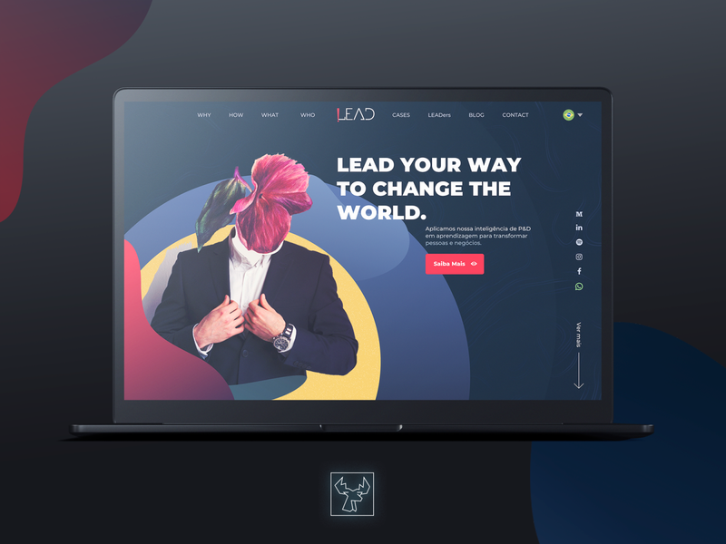 Lead Edu Website concept