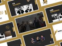 La Unión Awards Website