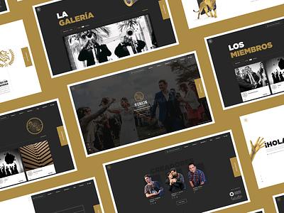 La Unión Awards Website sketch desktop design design web awards website webdesign ui design ui product design photography latinamerica concept design agency website agency