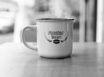 Roasted Bean Mugs! photoshop mockup logo graphicdesign branding vector designer design illustrator