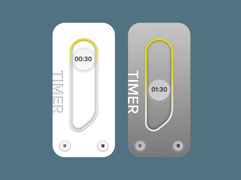 Daily UI Timer minimal branding app ui ux design dailyui