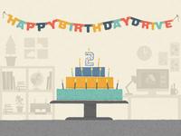 Google Drive Birthday