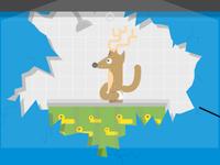 Showering Reindeer