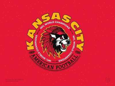 Badge Design - Kansas City (Chiefs) NFL World Champions 2019