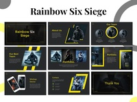 Rainbow Six Siege Presentation