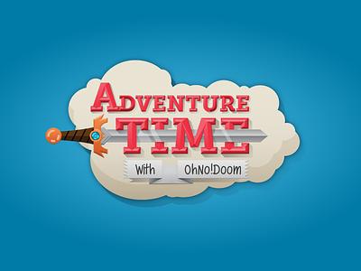 Adventure Time Logo adventure time type fun
