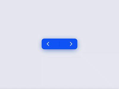 Button // Next - Previous Action design concept prototype transition mobile ui interaction blue codepen dailyui mobile microinteraction minimal ux cta motion animation button ui design