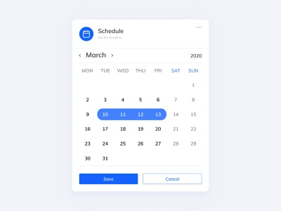 UI // Date scheduling tab project management schedule component design app design web app user interface user experience product design figma deadline dailyuichallenge dailyui ux ui design concept minimal prototype ui flat