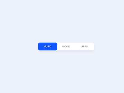 UI // Segmented Control mobile ui mobile design ui animation interaction design tabs microinteraction codepen navigation dailyui motion ui user interface ui design interaction concept minimal prototype ui animation flat segmented control