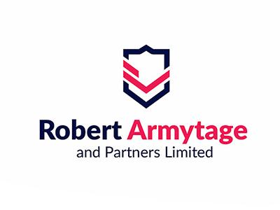 RobertArmytage logo id branding ci logotype design typography family insurance