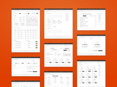 mFarm - High fidelity wireframes user experience ux high fidelity sketch application dashboard prototype wireframes