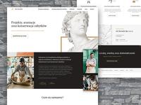 Art Inventis landing page