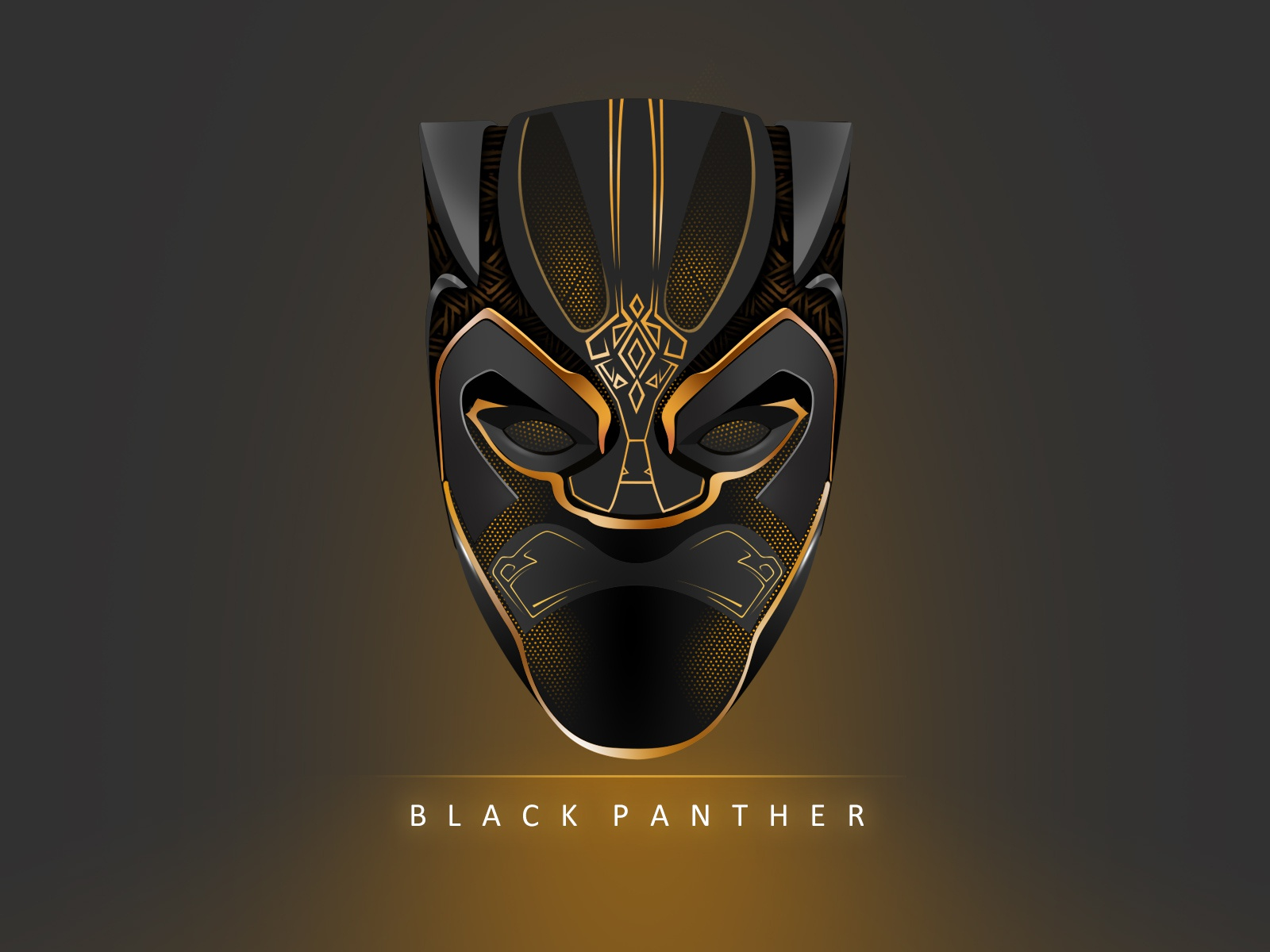 Black Panther Rip By Rohith On Dribbble