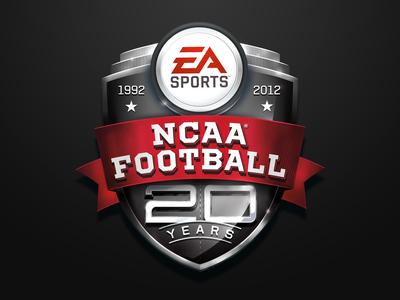 EA Sports X NCAA Anniversary Logo