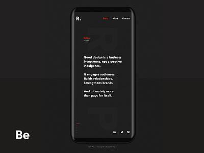 Republik - Case Study on Behance ios product web design design web interactions ux ui userinterface startup app