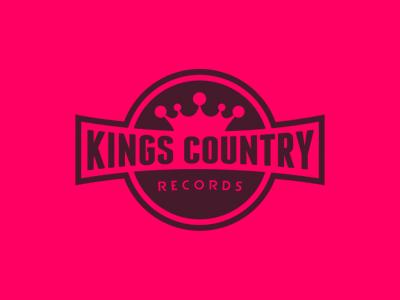 Kings Country Logo logo logotype badge crown